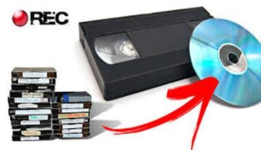 convertir vhs en dvd
